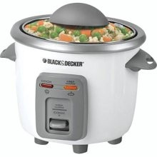 B&D RC3303 RICE COOKER 3CUP AUTOMATIC GLASS LID NONSTICK POT