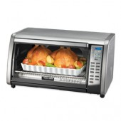 B&D CTO6301 CONVECTION TOASTER OVEN DIGITAL 6SLICE TOUCHPAD