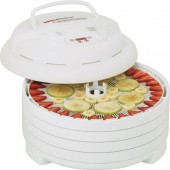 NESCO FD1020 WHITE FOOD DEHYDRATOR 1000W 4TRAY ACCESSORIES
