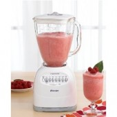 OSTER 6608 WHITE BLENDER 14SPEED 5CUP GLASS JAR