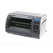 DELFINO DLTO442 STEEL CONVECTION AND TOASTER OVEN  BROILER