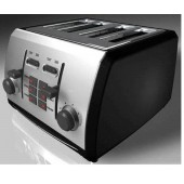TOASTESS TT522 STEEL TOASTER 4SLICE DIGITAL COUNTDOWN