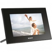 "Sony DPF-D72N/B 7"" LCD 1GB Digital Photo Frame"