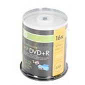 HP 4.7GB 16X DVD+R Inkjet Printable 100 Packs Spindle Disc 02055