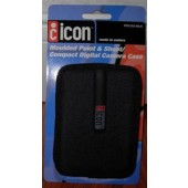 Black Molded Point & Shoot/Compact Digital Camera Case