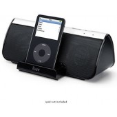 iLuv i189 Stereo Speaker with iPod Dock (Black)Compatible with iPod touch, classic, iPhone, iPod video (30 GB, 60 GB, 80 GB), nano 1G & 2G, photo, mini
