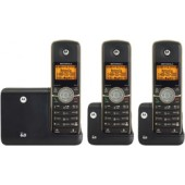 Motorola L513BT DECT 6.0 3-Handset Cordless Phone System with Bluetooth and Answering Machine