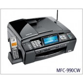 Brother MFC-990CW Color Inkjet All-in-One with Wireless Networking