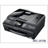 Brother MFC-J415w Compact Inkjet All-in-One with Automatic Document Feeder and Wireless Networking