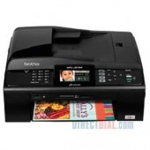 Brother MFC-J615W Compact Inkjet All-in-One With Wireless Networking for Home or Small Office