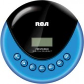 RCA RP3013 Portable CD Player with FM Radio