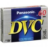 AY-DVM60EJ  Panasonic 60-minute DVC (Mini DV) Tape