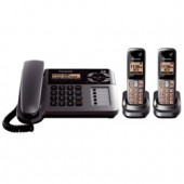 KX-TG1062M  Expandable Digital Cordless Telephone with Answering System with 2 Handset