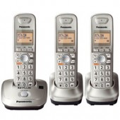 KX-TG4013N  Expandable Digital Cordless Phone with 3 handset.