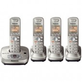 KX-TG4024N  Expandable Digital Cordless Phone with Answering Systeme with 4 handset.