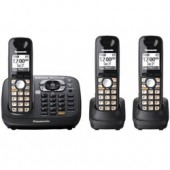 KX-TG6583T  Expandable Digital Cordless Phone with 3 handsets and Bluetooth conectivity.