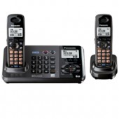 KX-TG9382T  2-Line DECT 6.0 Expandable Digital Cordless Answering System with 2 Handsets