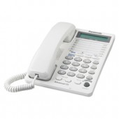 KX-TS208W  2-Line Integrated Telephone System 16-Digit LCD with Clock and Hearing Aid Compatibility (HAC)
