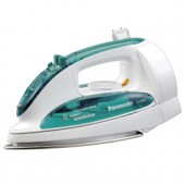 """NI-C78SR  Steam Iron with Curved Stainless Steel Soleplate, Built-In Retractable Cord, 3-Way Auto Shut-Off, Detachable Water Tank, Adjustable Steam, Pushbutton Steam/Dry Selector, Cool Spray Mist Pushbutton, Dial Temperature Control and """"Stay Clean"""" Steam"""