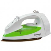 """NI-S300TR  Steam Iron with Curved Non-Stick Coated Titanium Soleplate, Built-In Retractable Cord, 3-Way Auto Shut-Off, Adjustable Steam, Pushbutton Steam/Dry Selector, Cool Spray Mist Pushbutton, Dial Temperature Control and """"Stay Clean"""" Steam Vents"""