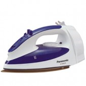 """NI-S650TR  Steam Iron with Curved Non-Stick Coated Titanium Soleplate, Built-In Retractable Cord, 3-Way Auto Shut-Off, Adjustable Steam, Pushbutton Steam/Dry Selector, Cool Spray Mist Pushbutton, Dial Temperature Control and """"Stay Clean"""" Steam Vents"""