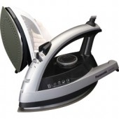 """NI-W750TS  New Concept 360° Quick™ Steam/Dry Iron with Curved Non-Stick Coated Titanium Soleplate, Multi-Directional Design with Added Steam Vents, 3-Way Auto Shut-Off, Adjustable Steam, Dial Temperature Control, """"Stay Clean"""" Steam Vents and Anti-Drip Sys"""
