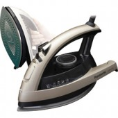 """NI-W810CS  New Concept 360° Quick™ Steam/Dry Iron with Curved Non-Stick Coated Ceramic Soleplate, Multi-Directional Design with Added Steam Vents, 3-Way Auto Shut-Off, Adjustable Steam, Dial Temperature Control, """"Stay Clean"""" Steam Vents and Anti-Drip Syst"""