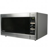 NN-SD697S  Family-Size 1.2 cu. ft. Countertop Microwave Oven with Inverter Technology, 1300 Watt High Power, One Touch Sensor Cooking & Reheat, and Easy-to-Use Pop Out Dial, Stainless
