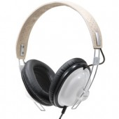 RP-HTX7-W1  NEW DESIGN! Panasonic Old School Monitor Stereo Headphones with Single-Sided Cord and 40mm Large-Diameter Drive Units, White